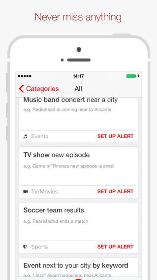 Hooks – Alerts that Matter iPhone pic1