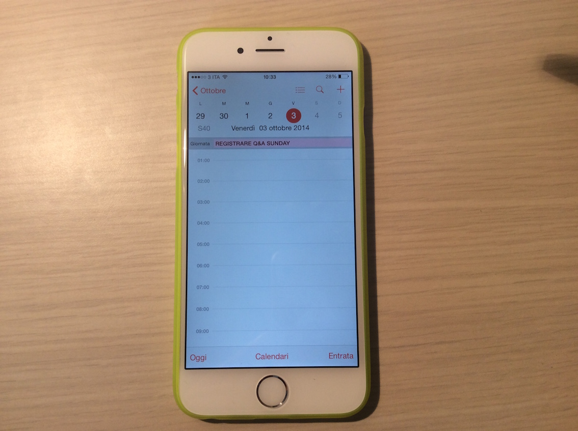 Custodia Apple in Silicone per iPhone 6 - La recensione di iPhone