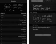 "iMonitor: un widget da veri ""geek"" per iOS 8"