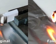 Adattatore di corrente originale Apple VS fake: test di resistenza al fuoco