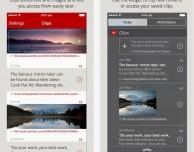 Clips: il copia-incolla avanzato grazie al supporto widget di iOS 8