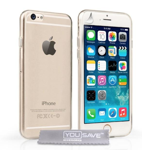 iphone 6 custodia trasparente