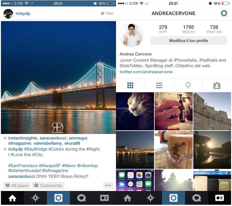 Foto 6 Foto 6: Instagram Si Aggiorna: Arriva L'ottimizzazione Per IPhone