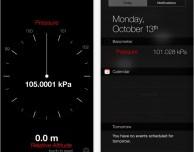 Barometer + widget e Live Barometer: pressione atmosferica e altitudine sul tuo iPhone 6