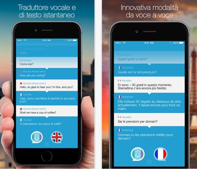 Parla e traduci traduttore vocale con widget per ios 8 for Traduttore apple