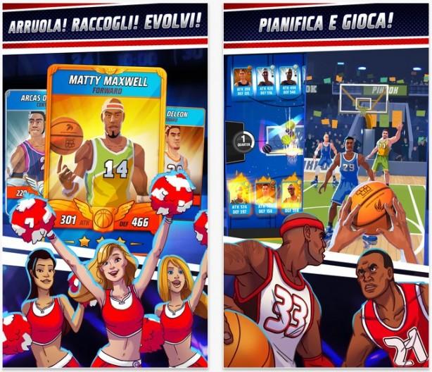 Rival Stars Basketball unisce card game e azione