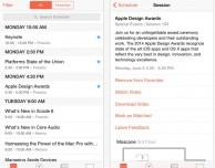 L'app WWDC di Apple si aggiorna per iOS 8 e iPhone 6/6 Plus