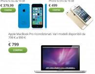 iPhone 5c, iPhone 5s e MacBook Pro in offerta su Groupon