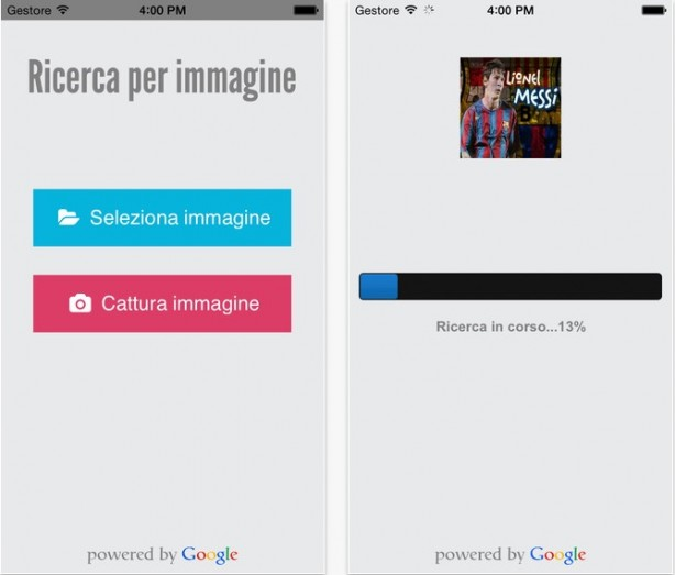 Ricerca per immagine scatta una foto da iphone ed for Cerca per foto