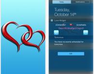 LoveWidget: un widget che ci ricorda le date sentimentali importanti