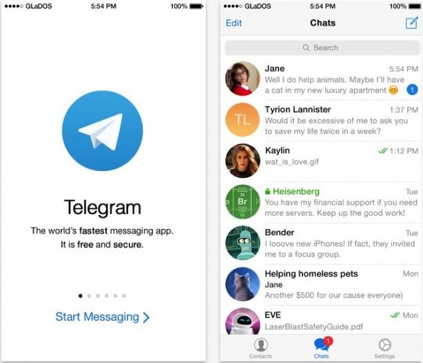 Telegram messenger si aggiorna nuovamente cercando di offrire
