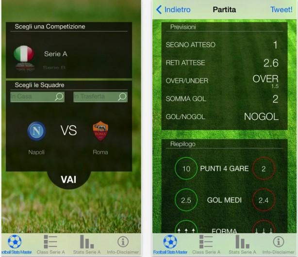La Bolletta - Football Stats Master