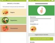 Un'app per chi sceglie la dieta veg