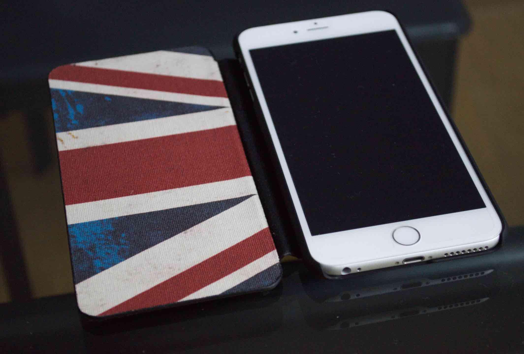 custodia iphone 6plus portafoglio