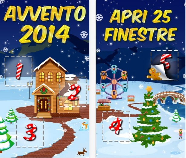 Natale 2014: il calendario dell'avvento che ti regala 25 applicazioni