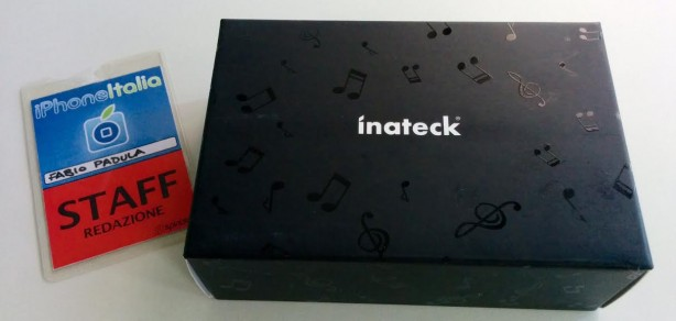 inateck Speaker Bluetooth iPhone pic1