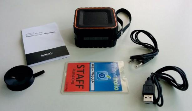 inateck Speaker Bluetooth iPhone pic2