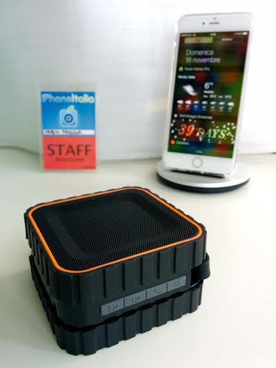 inateck Speaker Bluetooth iPhone pic6