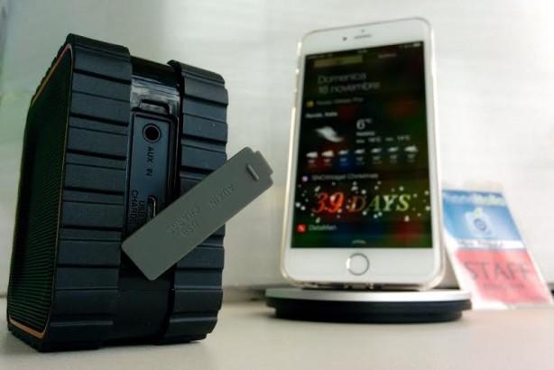 inateck Speaker Bluetooth iPhone pic7