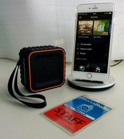 inateck Speaker Bluetooth iPhone pic8