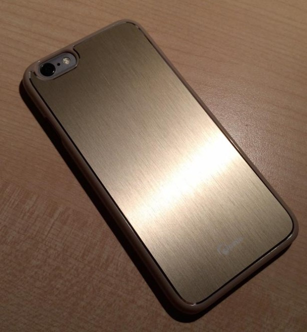 custodia iphone 6 in metallo