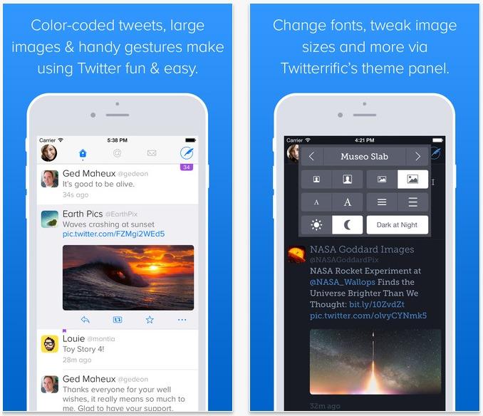 Twitterrific 5 si aggiorna con nuove funzioni