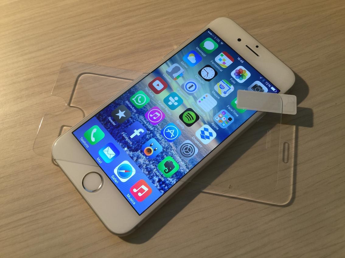 Vetro temperato Aukey per iPhone 6 - La recensione di ...