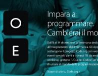 CODE, il workshop gratuito anche negli Apple Store italiani!
