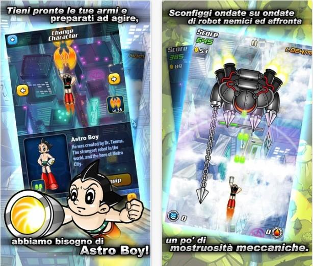 Il volo di Astro Boy iPhone pic0