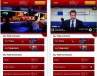 """Sky lancia la nuova app """"Sky TG24"""""""