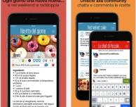 Piccole Ricette, l'app di cucina si aggiorna con diverse novità