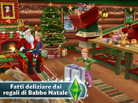 Albero Di Natale The Sims 3.Arriva Il Natale In The Sims Freeplay Iphone Italia
