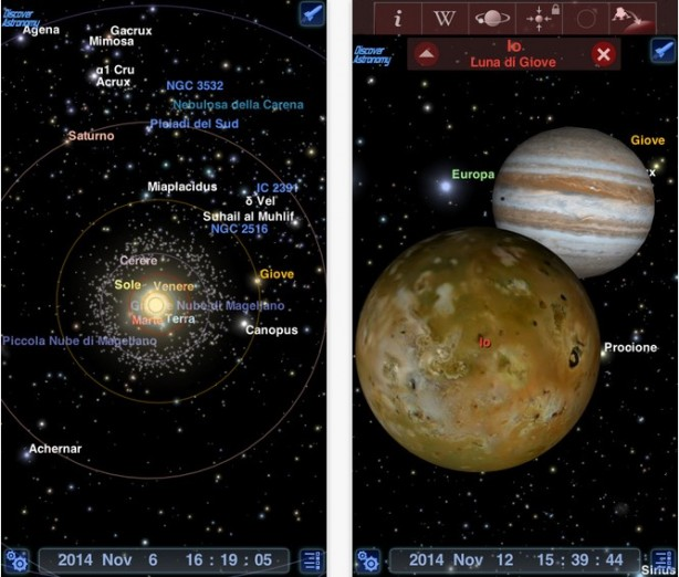 Redshift Discover Astronomy iPhone pic0