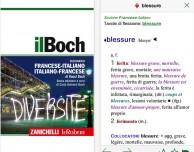 """Zanichelli porta il dizionario Francese-Italiano """"il Boch"""" su App Store"""