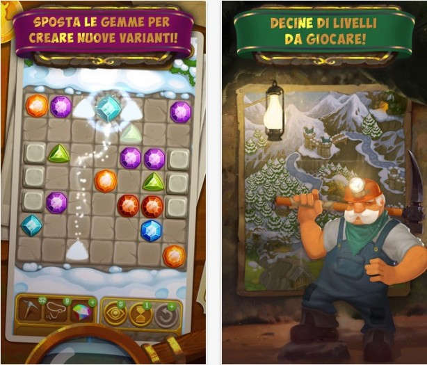 Gemcrafter: Puzzle Journey iPhone pic0