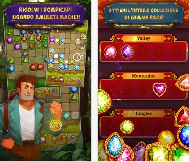 Gemcrafter: Puzzle Journey iPhone pic1