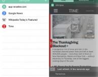 Trasforma una pagina web in un widget per iPhone con Glimpse