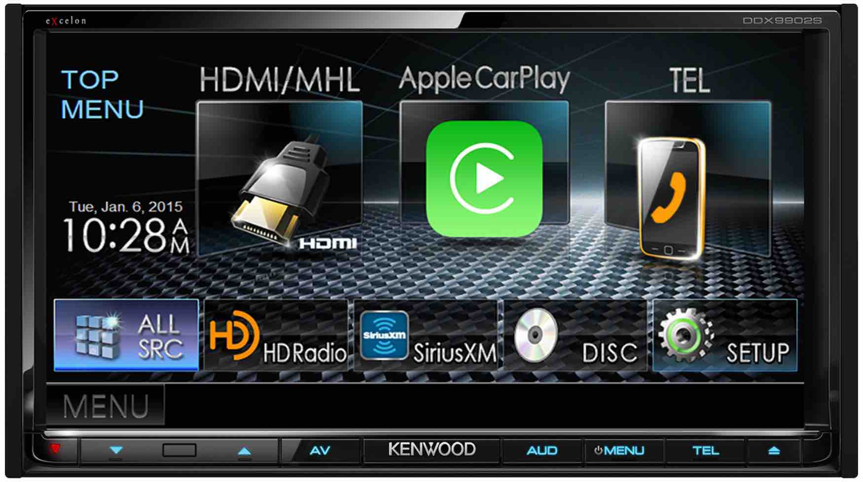 kenwood presenta un 39 autoradio aftermarket compatibile con carplay e android auto iphone italia. Black Bedroom Furniture Sets. Home Design Ideas