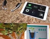 Parrot presenta tre novità al CES 2015: cuffie sport e due sensori per le piante