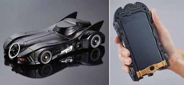 Custodie pazze la batmobile di tim burton iphone italia for Case pazze