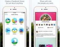 Facebook aggiorna l'applicazione Groups