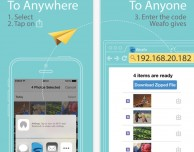Weafo: trasferire i file al computer con le estensioni di iOS 8 e una rete WiFi