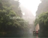 Apple mette in risalto le capacità fotografiche dell'iPhone 6