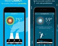 CARROT Weather: informazioni meteo dettagliate e con humor