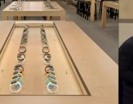 Apple ha creato nuovi espositori per provare e ricaricare l'Apple Watch