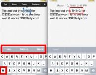 Come gestire in modo veloce il testo in maiuscolo grazie a QuickType