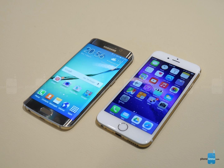 Galaxy S6 (e S6 EDGE) contro iPhone 6 e iPhone 6Plus: batteria e fotocamera a confronto
