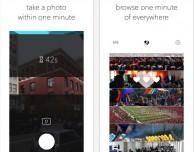 OneMinute: il social con una foto al giorno, ma solo quando parte il countdown!