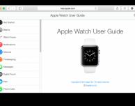 Disponibile il manuale utente dell'Apple Watch