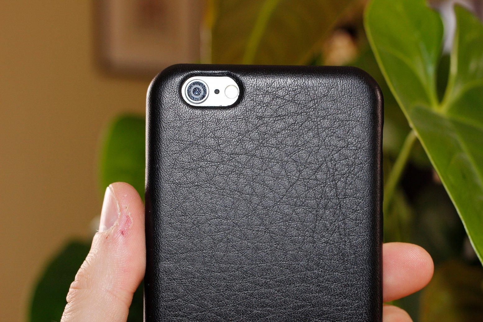 custodia vera pelle iphone 6